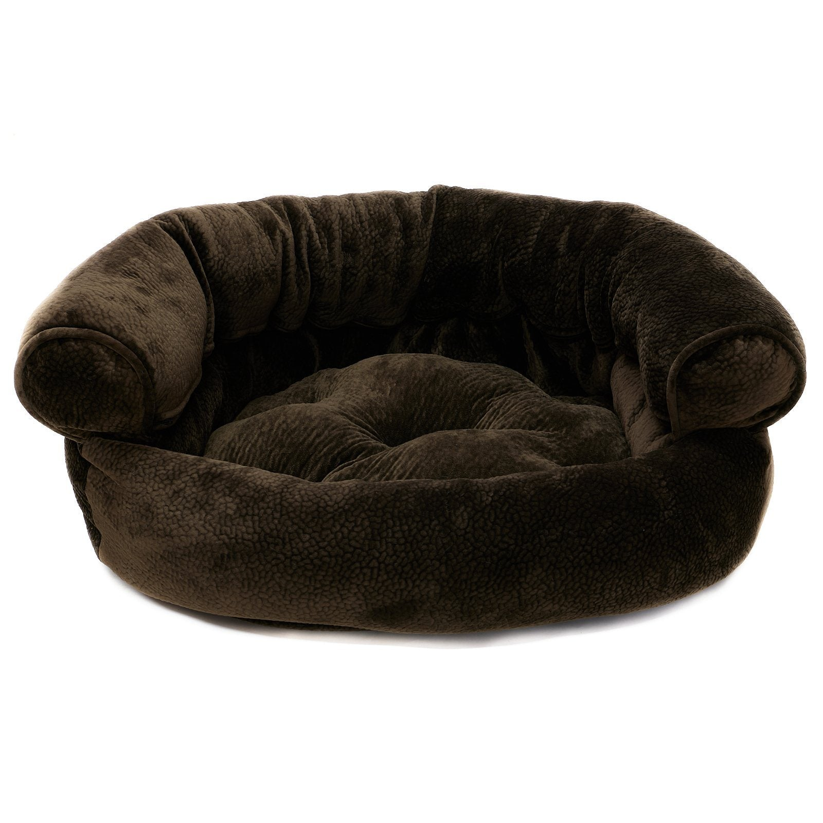Animals Matter Luxury Sofa Dog Bed Chocolate