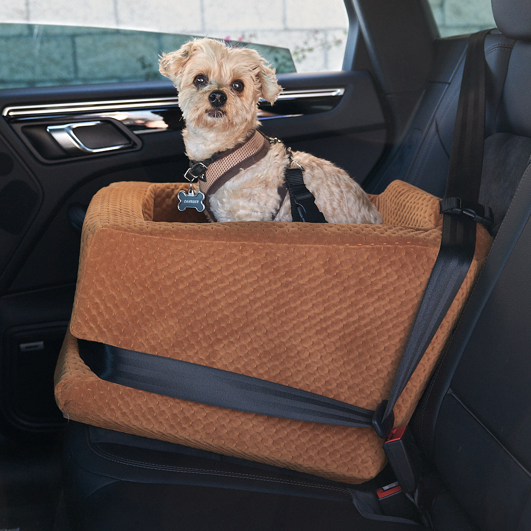 L.A. Dog Company Rider Turbo Standard Saddle Car Seat For Dogs