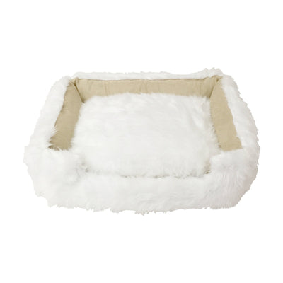 Animals Matter® Shag Lounger™ - White