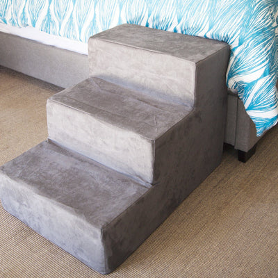 Animals Matter Companion Stairs Three Step Charcoal