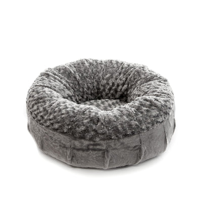 Animals Matter Katie Puff Orthopedic Luxury Dog Bed Charcoal