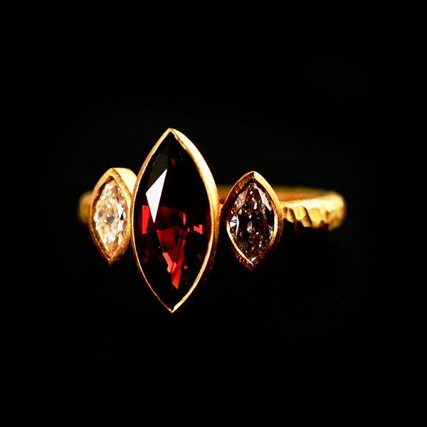 Marquise Spinel Ring