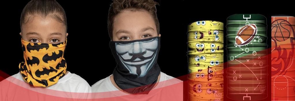 Fast Mask Has Fun Designs for Students Heading Back to School