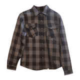 Fast Mask Grey Plaid Kevlar Lined Armoured Flannel Shirts - * PRE-SALE SHIPPNG DEC 14TH* - Fast Mask