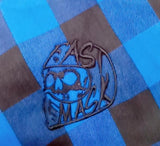 Fast Mask Blue Plaid Kevlar Lined Armoured Flannel Shirts - * PRE-SALE SHIPPNG DEC 14TH* - Fast Mask