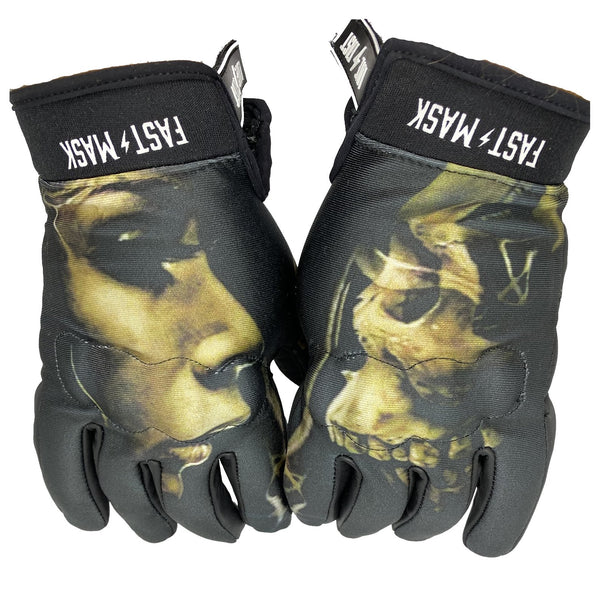 BEAUTY N BEAST FAST MASK MOTORCYCLE GLOVES