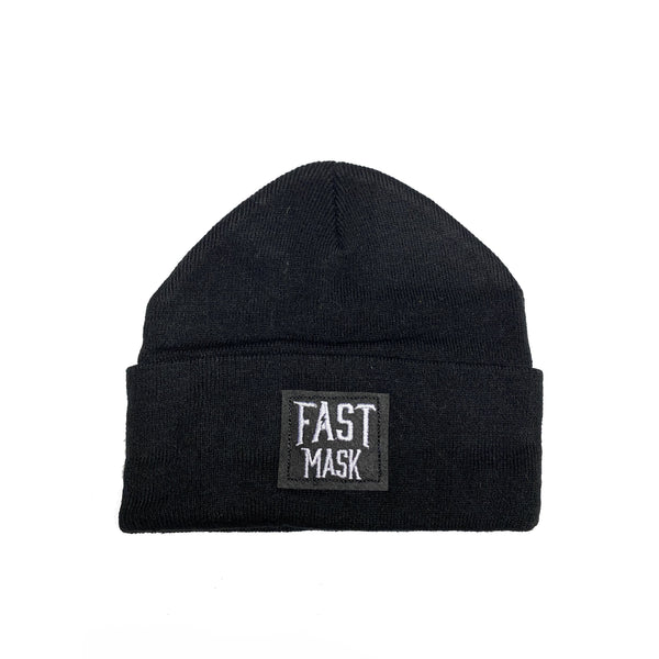 Black Fast Mask Toque