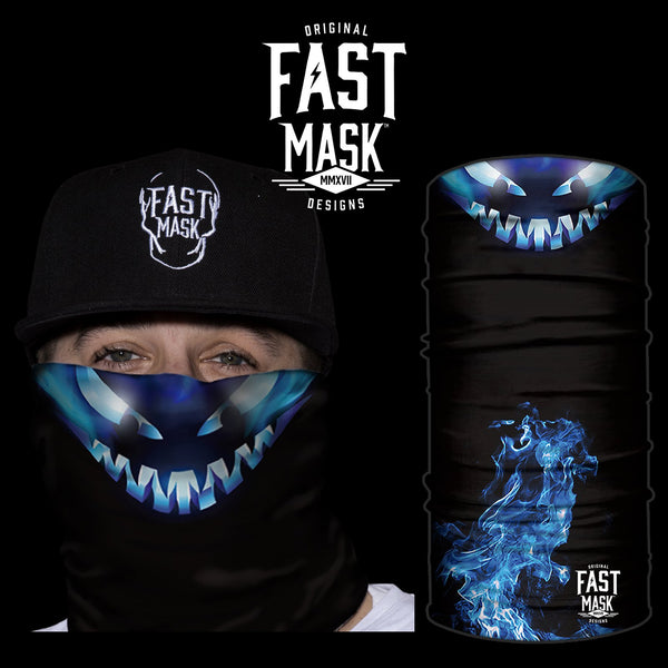 The Monster Under The Bed Fleece Face Mask