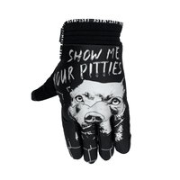 Show Me Your Pitties Fast Mask Motorcycle Gloves