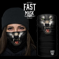 Wolf Fast Mask *Now With Sewn Edges* - Fast Mask