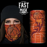Basketball Fast Mask - *Now with Sewn Edges*