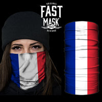 France Flag Fast Mask - *Now with Sewn Edges*