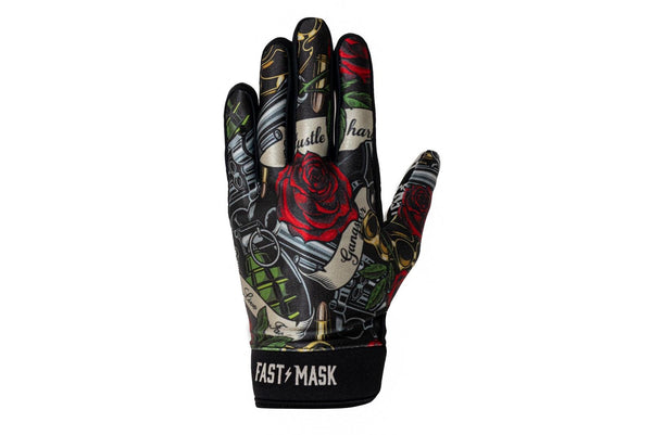 Bike Gloves - Guns N Roses  Motocross Gloves