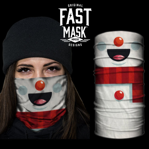 Snowman Fast Mask - *Now with Sewn Edges*