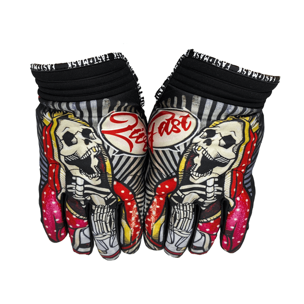 Pray To The Gods Fast Mask Motorcycle Gloves