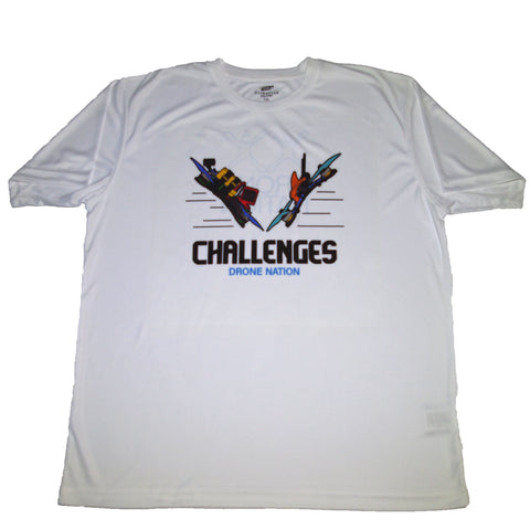 Drone Nation Challenges T-Shirt White