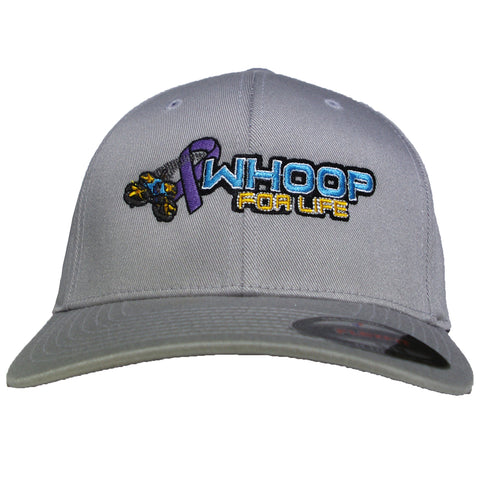 Whoop for Life Hat Fitted