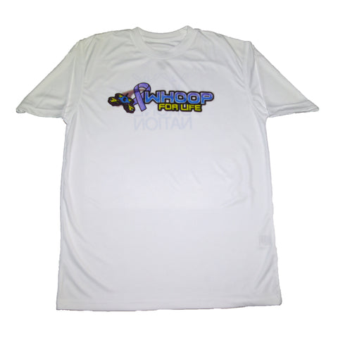 Whoop for Life T-Shirt White