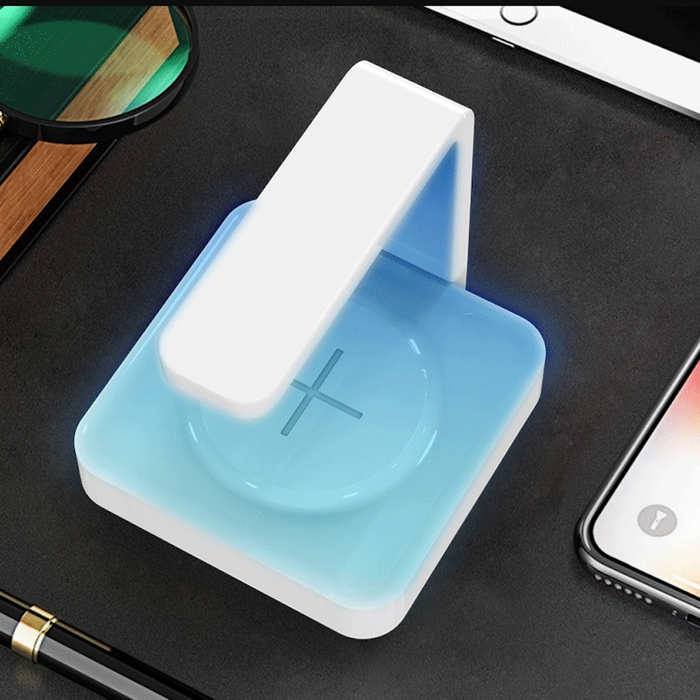UV Sterilizer + Wireless Charger - aspecttechnology - UV Light - Sanitize - Wireless Charger - Cool - Gadget - Tech Gear - Online Shopping - Hot Product - Free Shipping