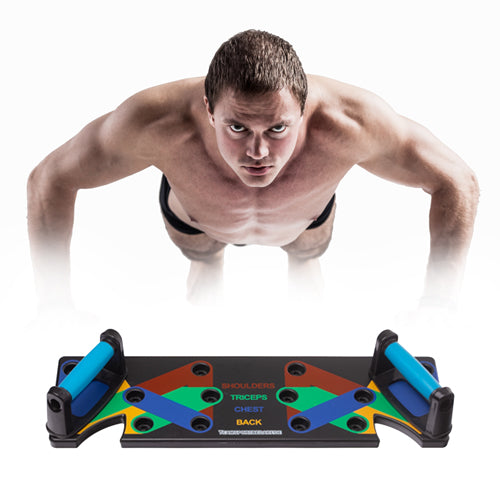 Foldable Push-up Board Stand Fitness Workout Gym Chest Muscle Training
