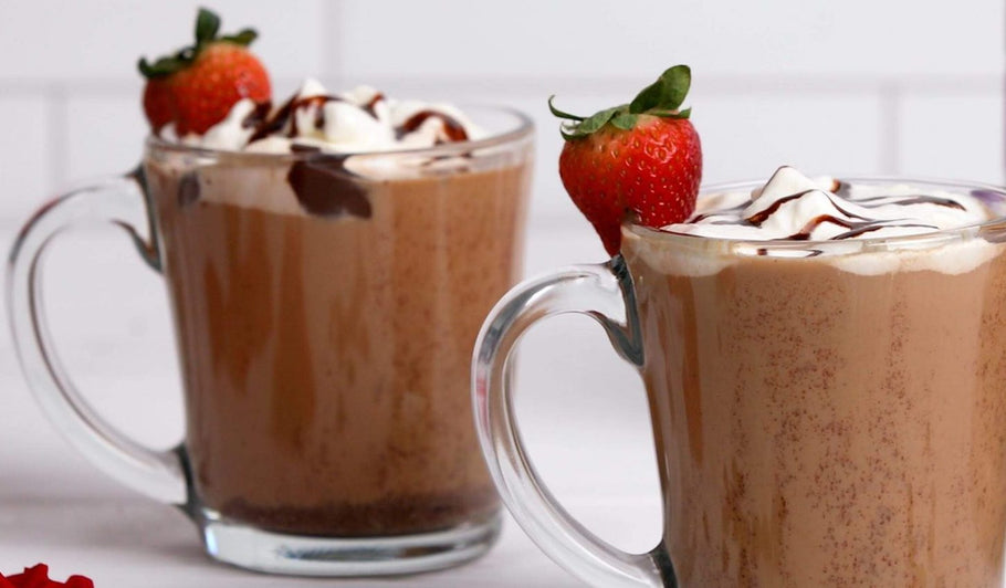 Chocolate Strawberry Mocha