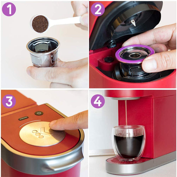 Reusable Stainless Steep K-Cup