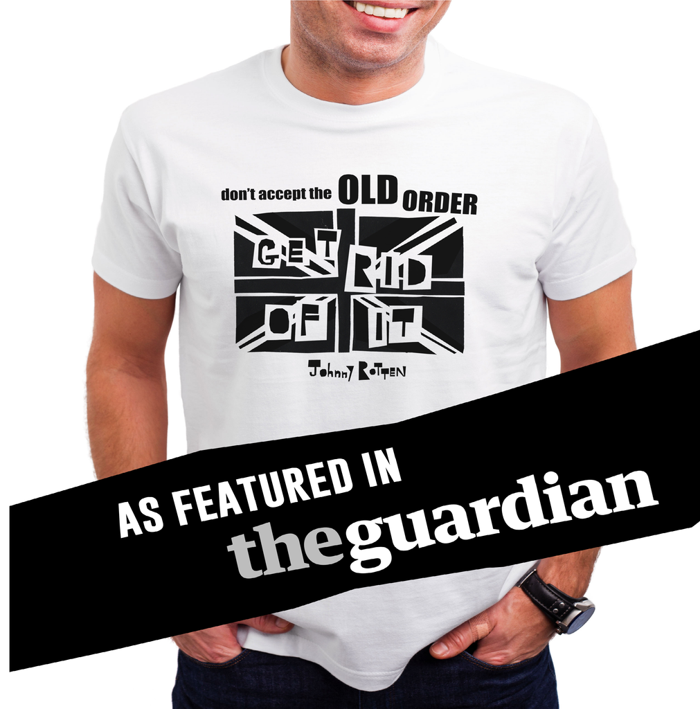 'Don't Accept The Old Order...Get Rid Of It! - This t-shirt is OVEN READY!