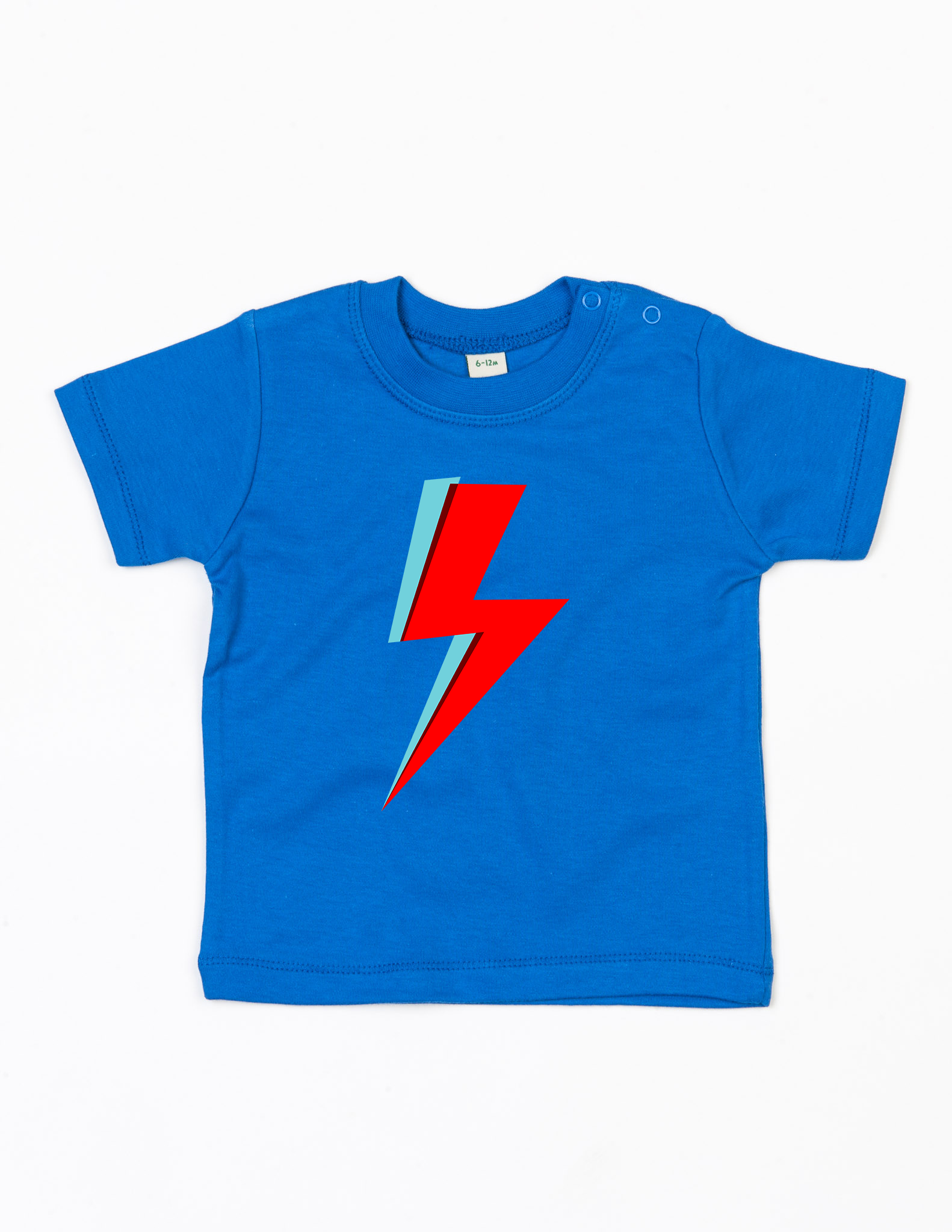 'Bowie Bolt' Organic Baby T