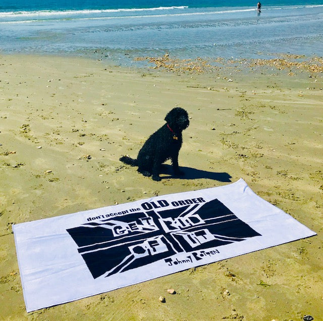'Don't Accept The Old Order, Get Rid Of It' Luxury Beach Towel
