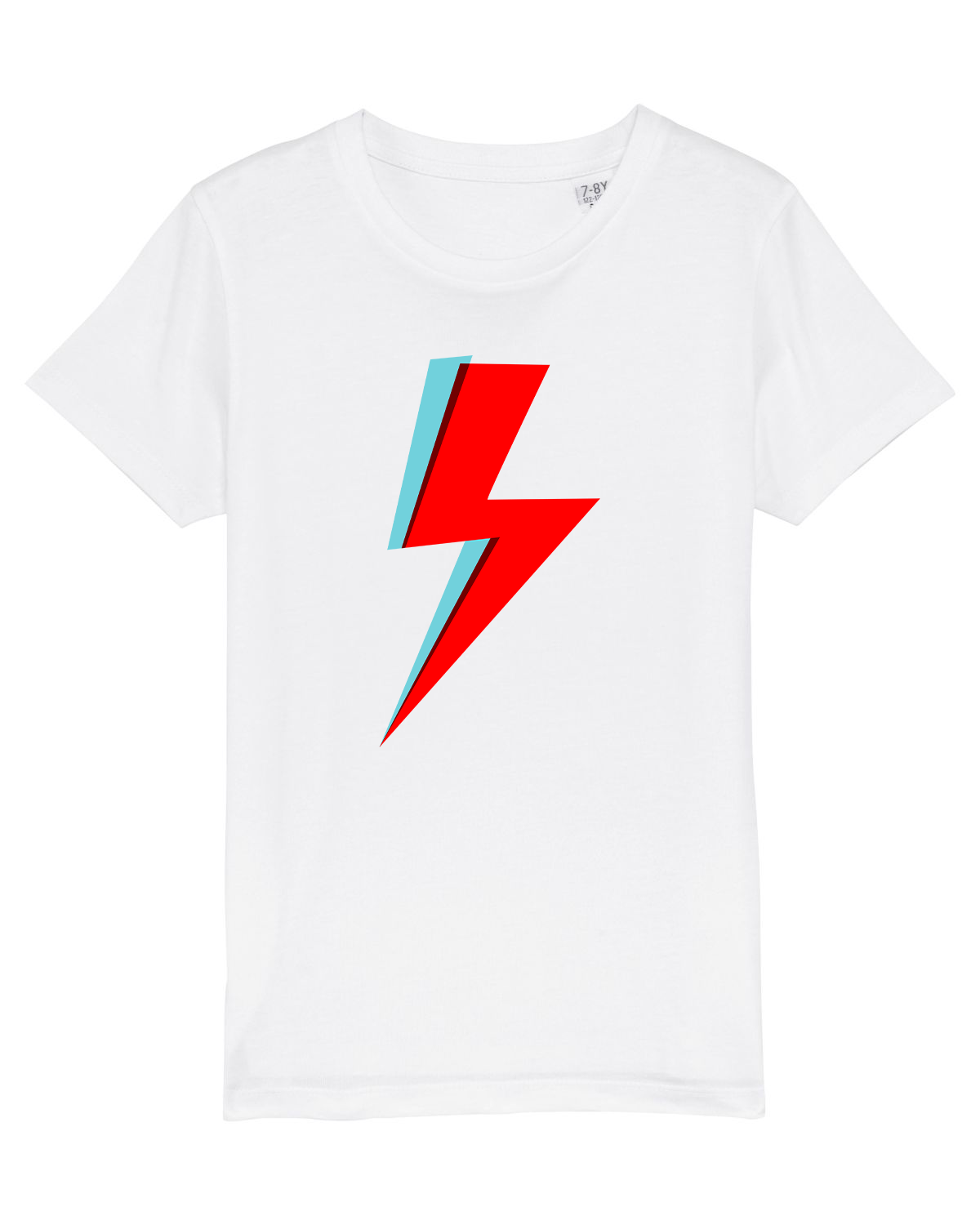 'Bowie Bolt' Organic Kids T-shirt