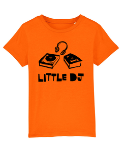 'Little DJ' Organic Kids T-shirt
