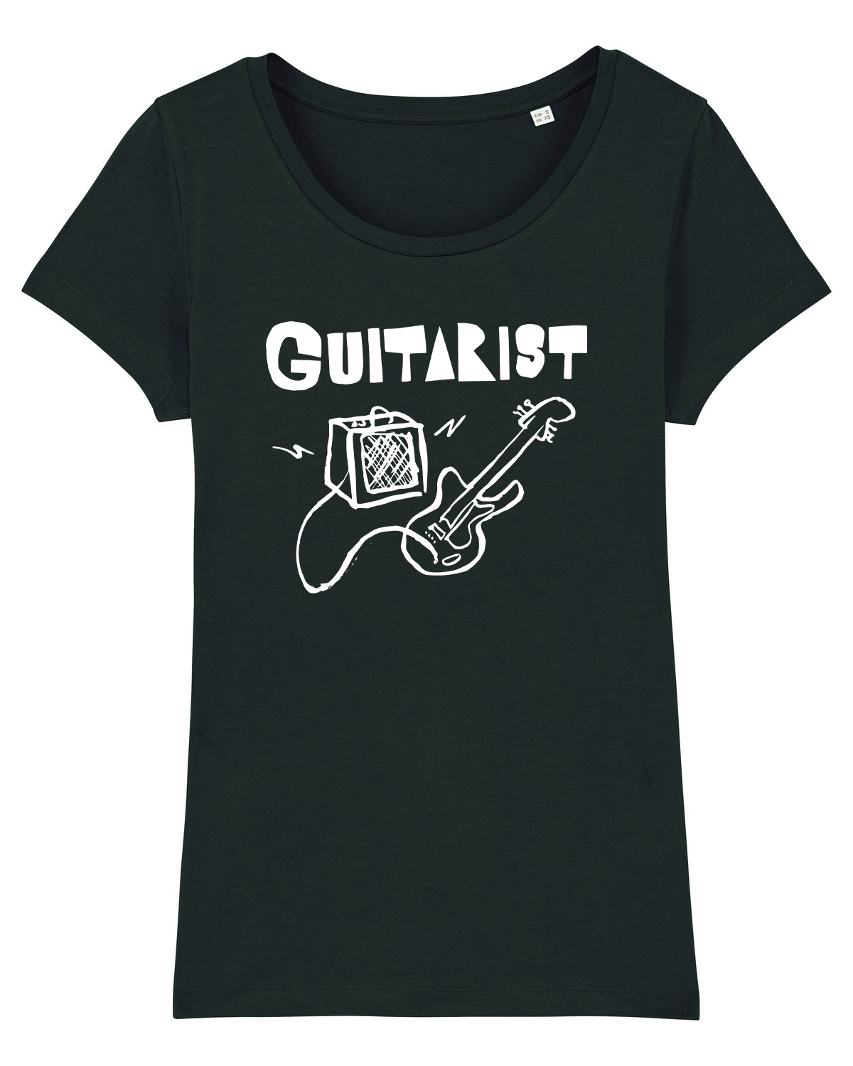 'Guitarist' Organic Womens T-shirt