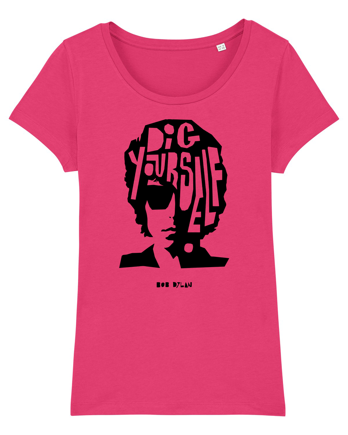 'Dig Yourself' Organic Womens T-shirt