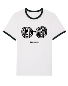 'It's Weird Not To Be Weird' T-shirt Organic Unisex Ringer
