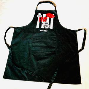 'Being Hot Never Hurts' Apron