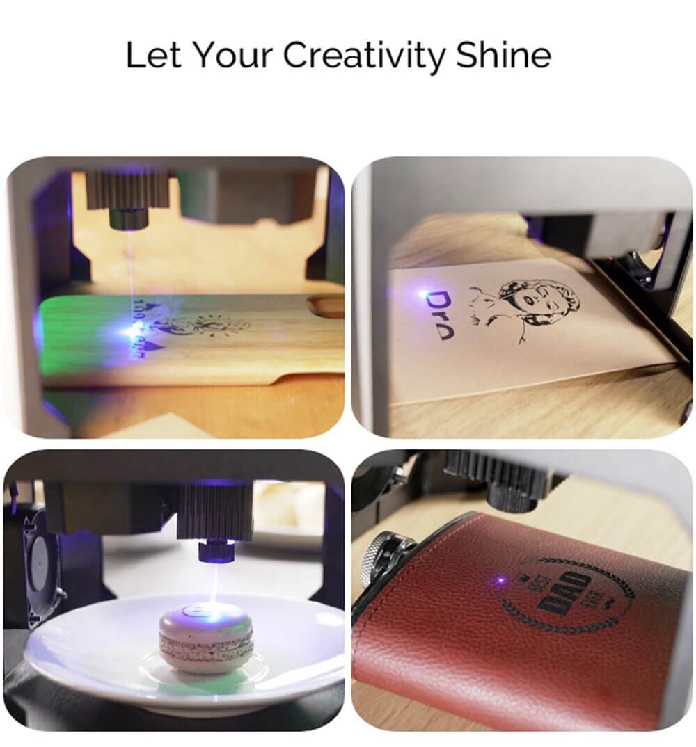 Wainlux K6 Laser Engraver Can Engrave Your Design on Almost Any Object