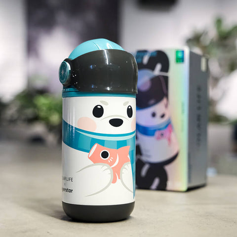 BigerStar : Children's doll smart vacuum bottle Polar species