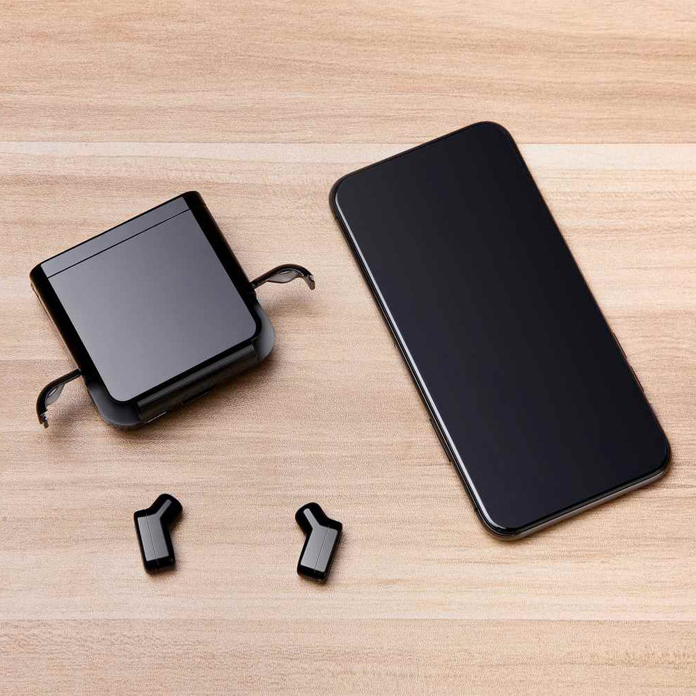 The World's Smallest Foldup Wireless Powerbank charger
