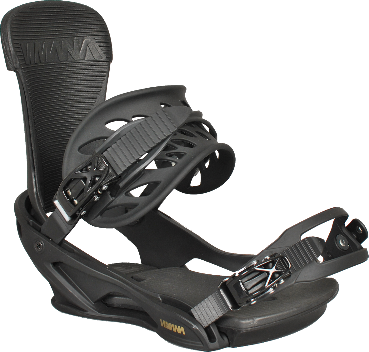 The Scando V2 Snowboard Binding Gold