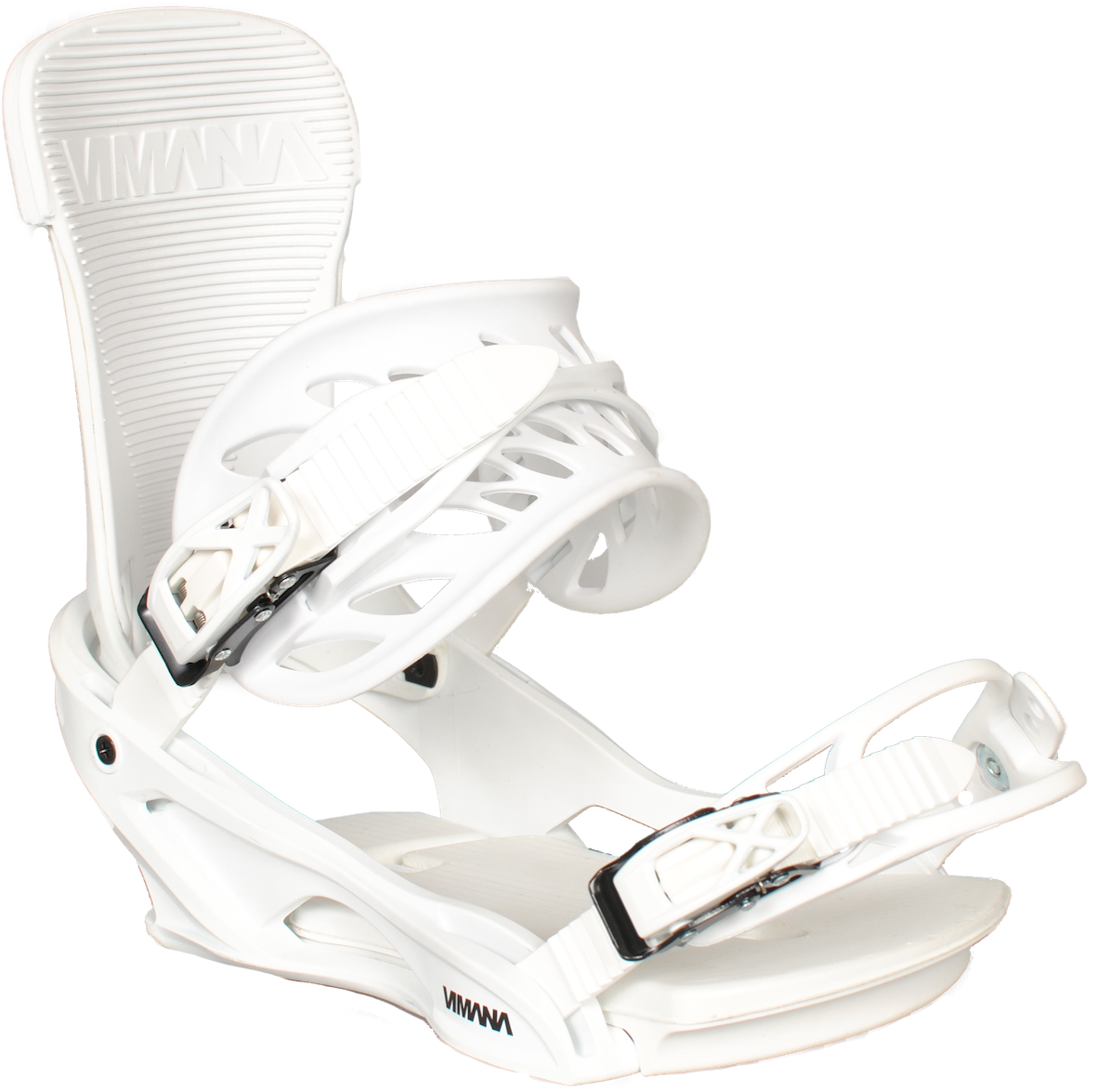 The Scando V2 Snowboard Binding White