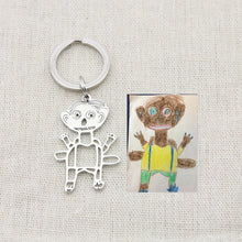 Load image into Gallery viewer, Custom Children's Painting Necklace