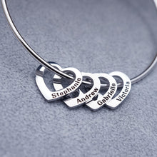 Load image into Gallery viewer, DIY love titanium steel bracelet