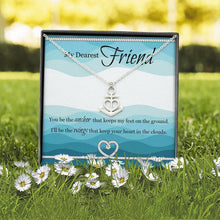 Load image into Gallery viewer, Artisan Crafted Friendship Anchor Pendant with Personalised Message Box