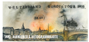 Ltd. FINE ART PAINTING - FELDZUG BASEL (NO valid Ticket)
