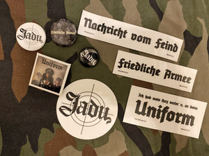 "Sticker & Button-Set ""NVF"""