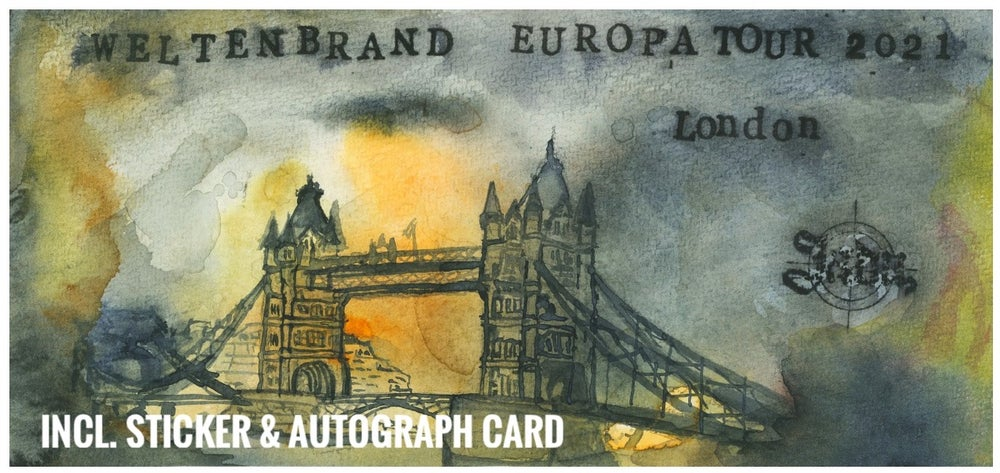 Ltd. FINE ART PAINTING - FELDZUG LONDON (NO valid Ticket)