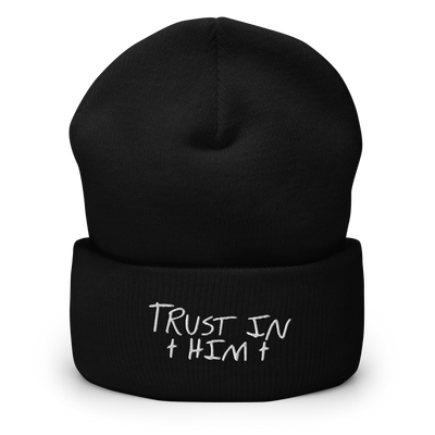 Cuffed Embroidered Beanie