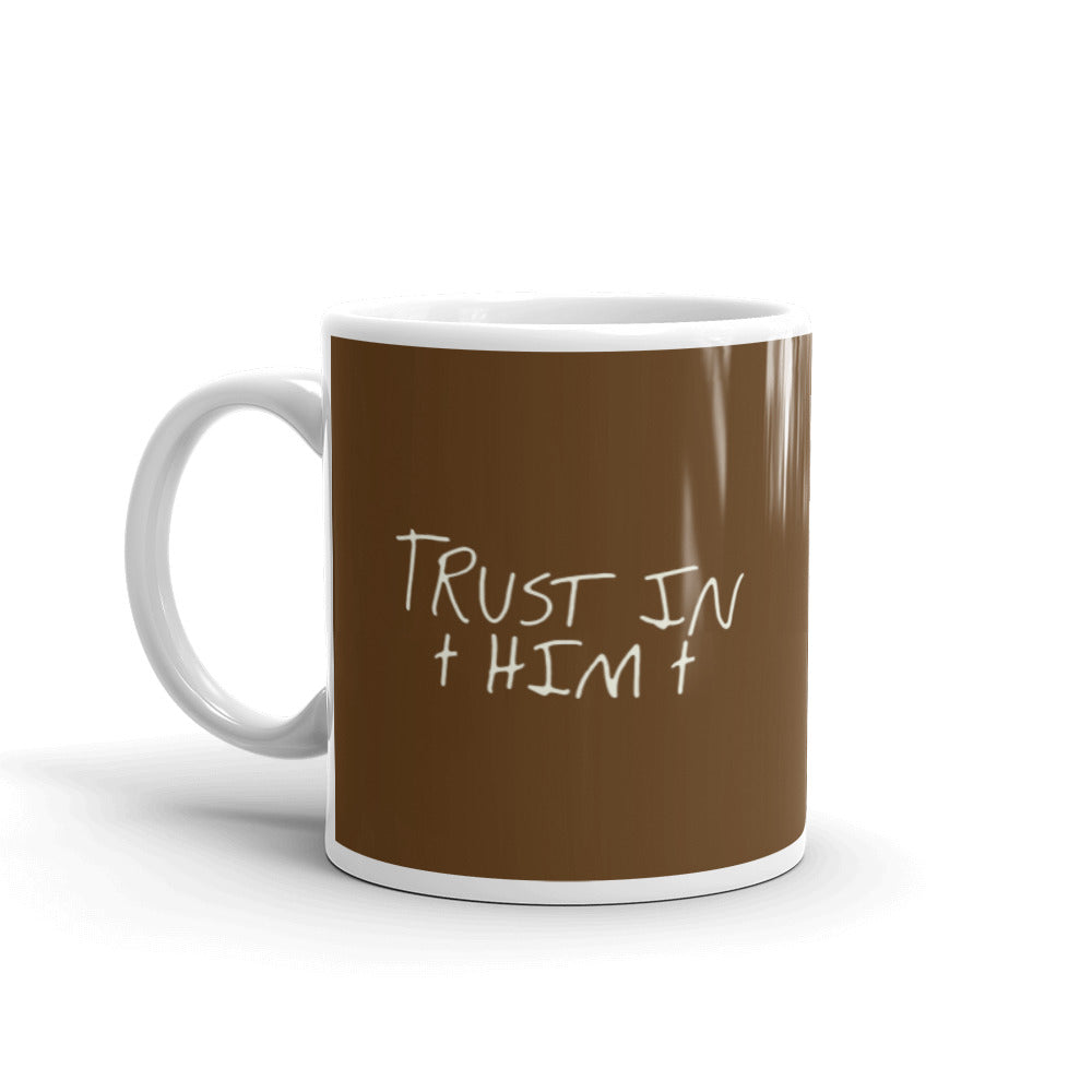 Brown & White Mug