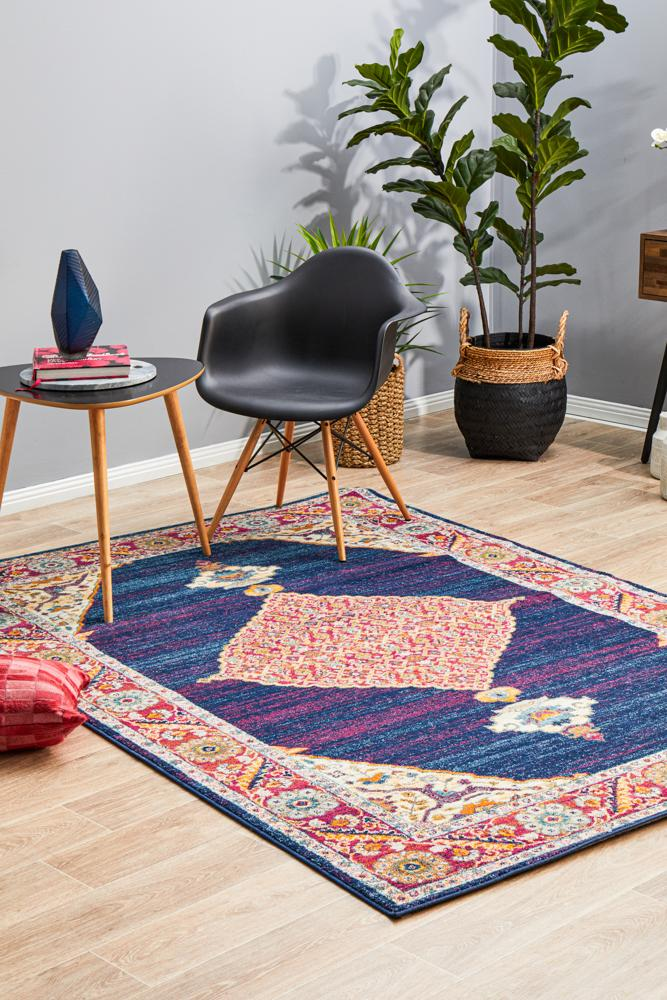 Millenia Rug - Royal Blue