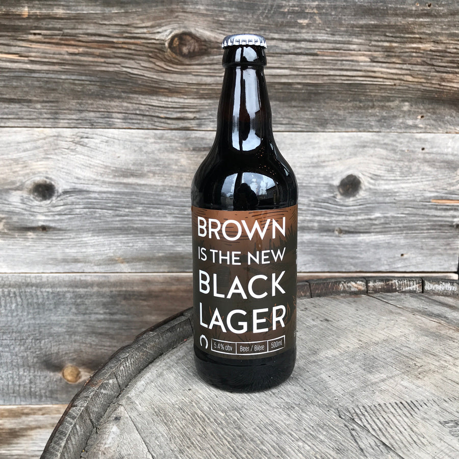 Brown is the New Black Lager